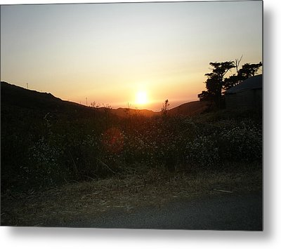 Orbs At Sunset Metal Print by Kicking Bear  Productions