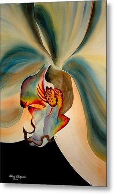 Orchid Diva Metal Print