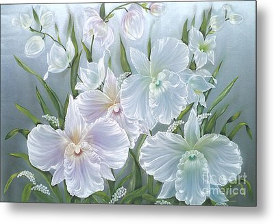 Orchids Kingdom. Metal Print by Angelina Roeders