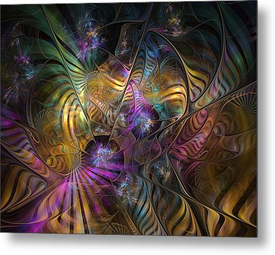 Metal Print featuring the digital art Ordinary Instances by NirvanaBlues