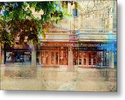 Metal Print featuring the photograph Ordway Center by Susan Stone