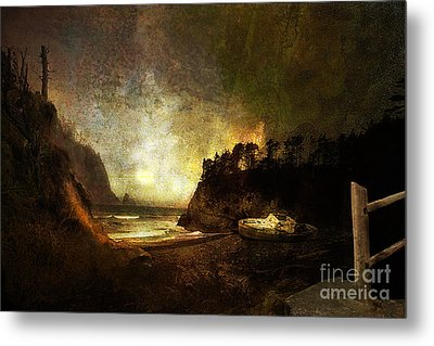 Oregon Beach Metal Print by Jeff Burgess