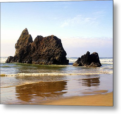 Oregon Coast 10 Metal Print by Marty Koch