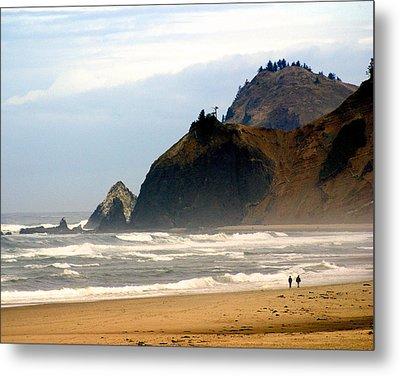 Oregon Coast 12 Metal Print by Marty Koch