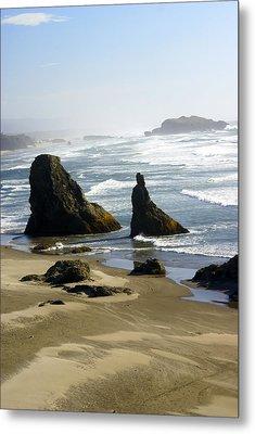 Oregon Coast 19 Metal Print by Marty Koch