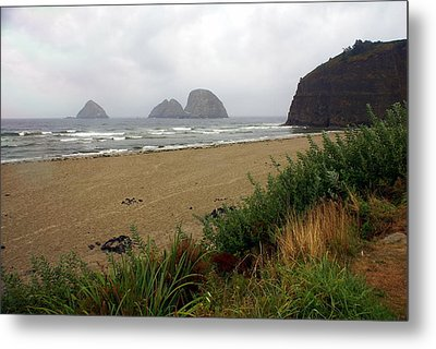 Oregon Coast 2 Metal Print by Marty Koch