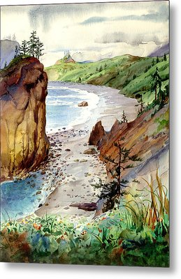 Oregon Coast #3 Metal Print