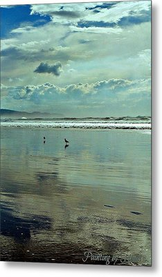 Oregon Coast 6 Metal Print