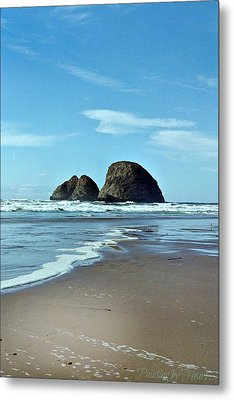 Oregon Coast 8 Metal Print