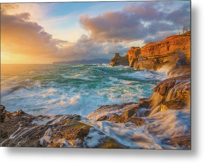 Metal Print featuring the photograph Oregon Coast Wonder by Darren White