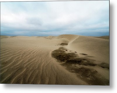 Metal Print featuring the photograph Oregon Dune Wasteland 1 by Ryan Manuel