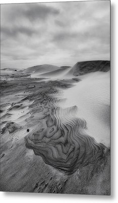 Metal Print featuring the photograph Oregon Dune Wasteland 2 by Ryan Manuel