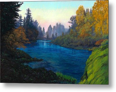Oregon Santiam Landscape Metal Print by Michael Orwick