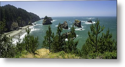 Metal Print featuring the photograph Oregon Seascape by Rob Wilson