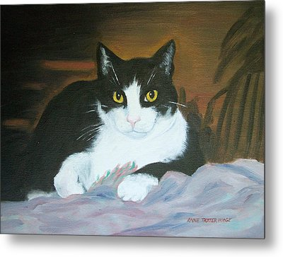 Oreo Metal Print by Anne Trotter Hodge