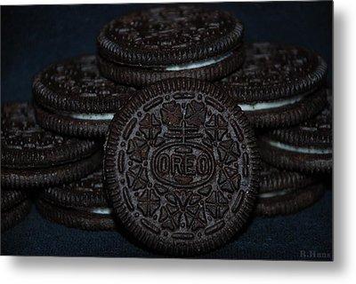 Oreo Cookies Metal Print by Rob Hans