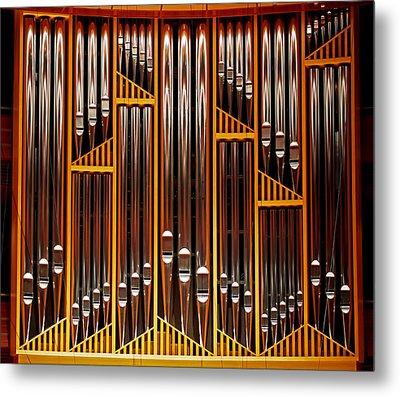 Organ Opus 76 - Philadelphia Metal Print by Rona Black