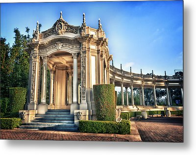 Organ Pavillion At Balboa Park Metal Print