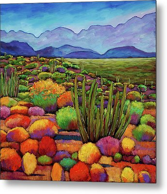 Organ Pipe Metal Print
