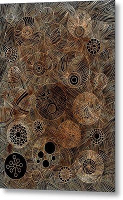 Organic Forms Metal Print by Frank Tschakert