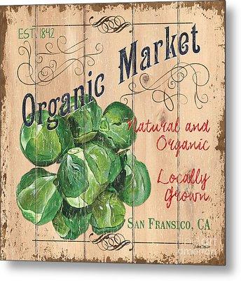 Organic Market Metal Print