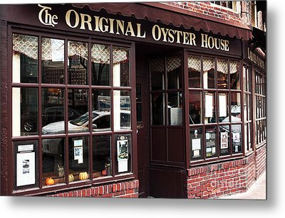 Original Oyster House Metal Print by John Rizzuto