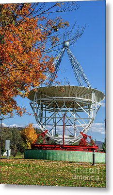 Original Radio Telescope Metal Print by Thomas R Fletcher