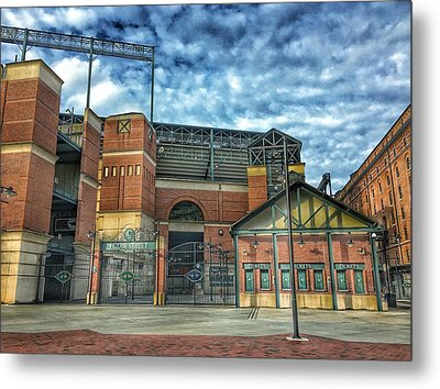 Oriole Park At Camden Yards Gate Metal Print