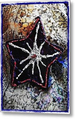 Ornaments 14 Card 1 Metal Print by Sarah Loft