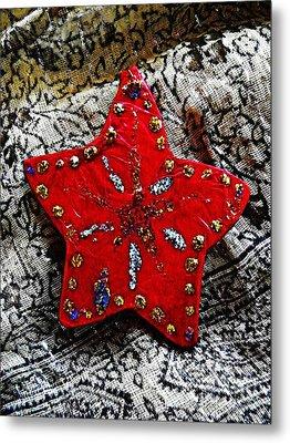Ornaments 15 Metal Print by Sarah Loft