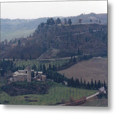 Metal Print featuring the photograph Orveito Italy by Marna Edwards Flavell