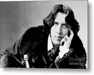 Oscar Wilde Metal Print by Reproductions