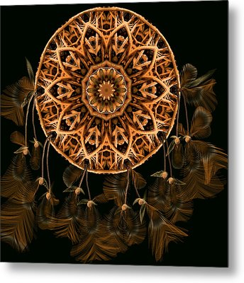 Osier Metal Print by Deborah Holland