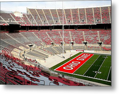 Osu Football Stadium Metal Print