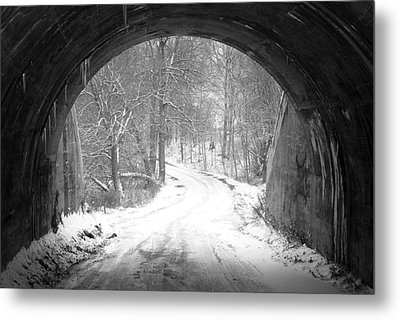 Other Side Metal Print by David  Hubbs