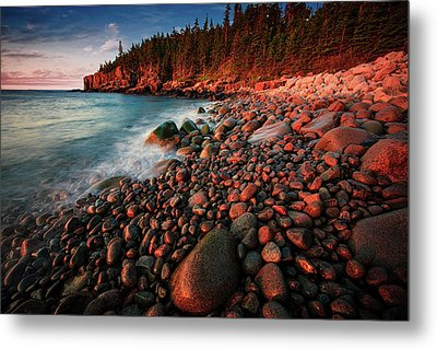 Metal Print featuring the photograph Otter Beach Main After The First Light  by Emmanuel Panagiotakis