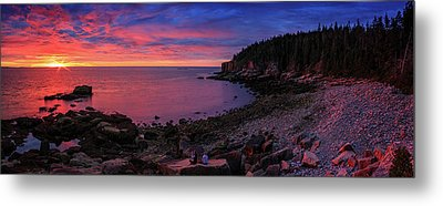 Metal Print featuring the photograph Otter Beach Maine Sunrise  by Emmanuel Panagiotakis