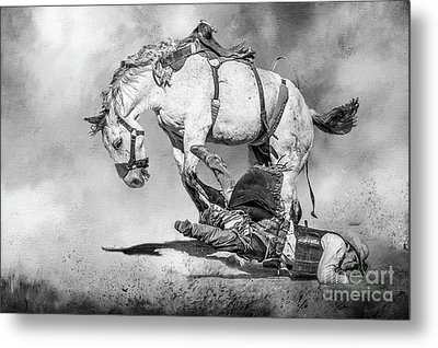 Ouch Metal Print by Eleanor Abramson