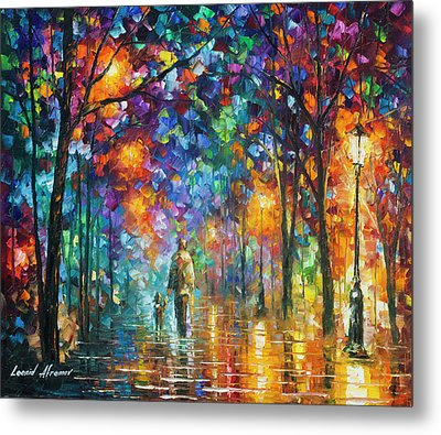 Our Best Friend  Metal Print by Leonid Afremov