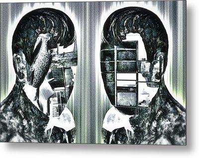 Our Innermost Thoughts Metal Print by Rabiri Us