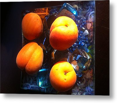 Our Juicy Apricots Metal Print