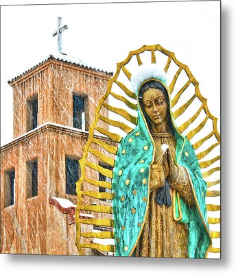 Our Lady Of Guadalupe Metal Print by Britt Runyon