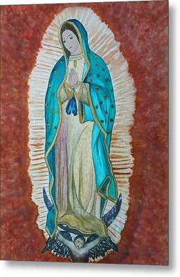 Our Lady Of Guadalupe Metal Print by Kerri Ligatich