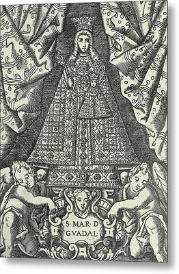 Our Lady Of Guadalupe Metal Print