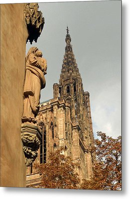 Our Lady Of Strasbourg Metal Print
