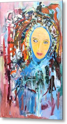 Our Lady Of The Left Eye Metal Print