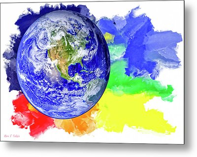 Our Land Of Color Metal Print