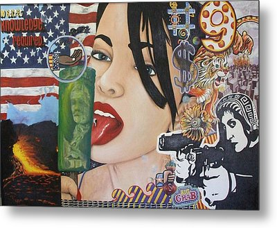 Our New World Order Metal Print by Randy Segura