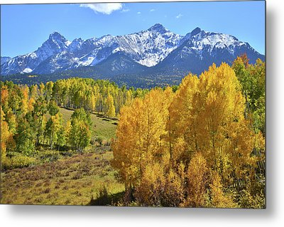Metal Print featuring the photograph Ouray County Road 8  by Ray Mathis