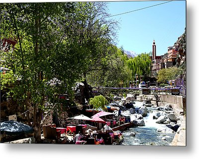 Metal Print featuring the photograph Ourika Valley 1 by Andrew Fare